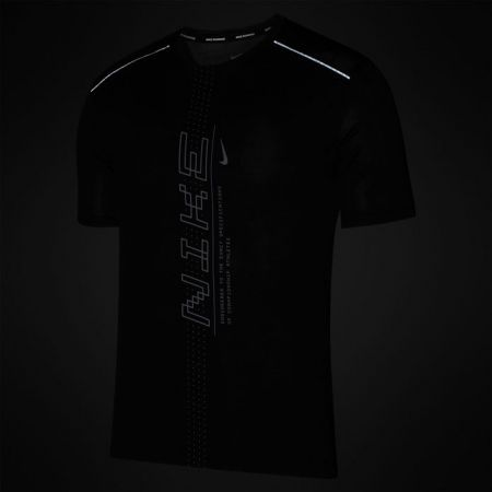 Férfi futópóló - Nike DRY MILER SS PO GX FF M - 3