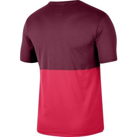 Pánské běžecké tričko - Nike BREATHE RUN TOP SS M - 2