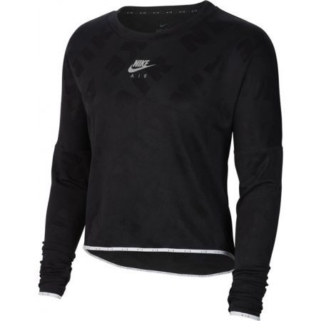 Nike AIR MIDLAYER CREW W - Дамска блуза за бягане