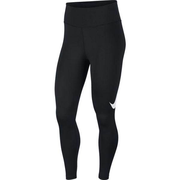 Nike TGHT 7_8 SWSH RUN W černá XS - Dámské legíny