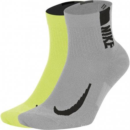 Unisex ponožky - Nike MULTIPLIER - 1