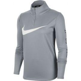 Nike MIDLAYER QZ SWSH RUN W - Dámský běžecký top