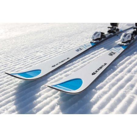 Sjezdové lyže - Kästle MX74 TRIFLEX BASE L162 + K12 TRI GW - 5