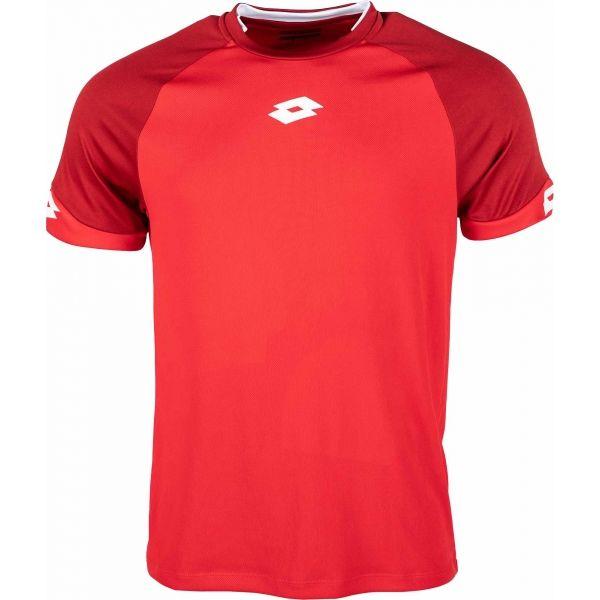 Lotto JERSEY DELTA PLUS červená XXL - Pánsky futbalový dres