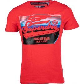 Superdry EMBOSSED CLASSICS TEE - Pánske tričko
