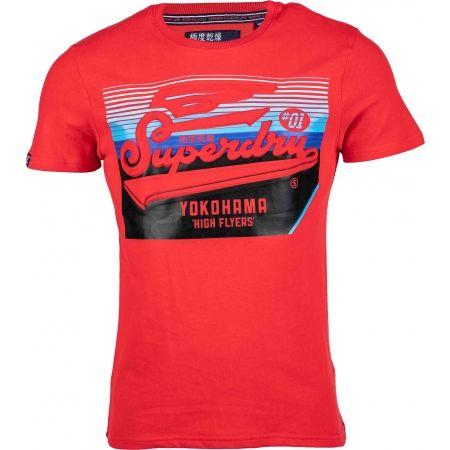 Pánské tričko - Superdry EMBOSSED CLASSICS TEE - 1