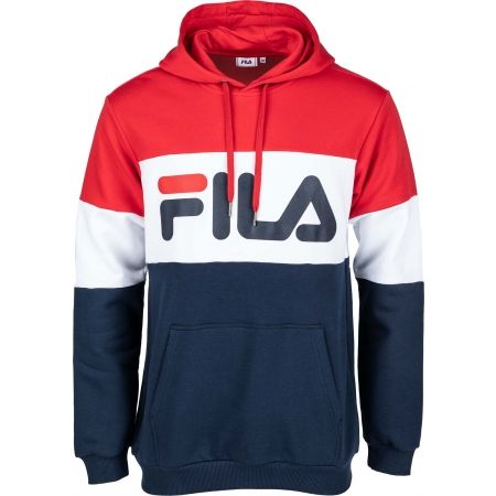Fila NIGHT Blocked Hoody - Pánska mikina