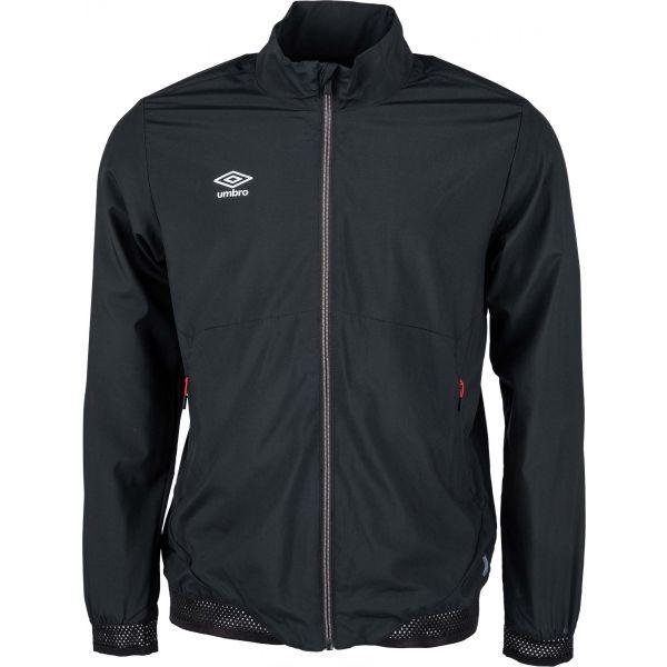 Umbro TRAINING WOVEN JACKET čierna L - Pánska športová bunda