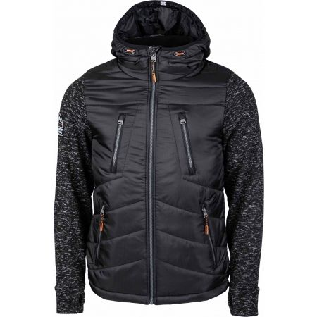 Superdry STORM HYBRID ZIPHOOD - Men's hybrid sweatshirt