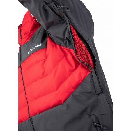 Férfi vízálló kabát - Columbia WHITE HORIZON HYBRID JACKET - 5