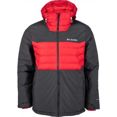Férfi vízálló kabát - Columbia WHITE HORIZON HYBRID JACKET - 2