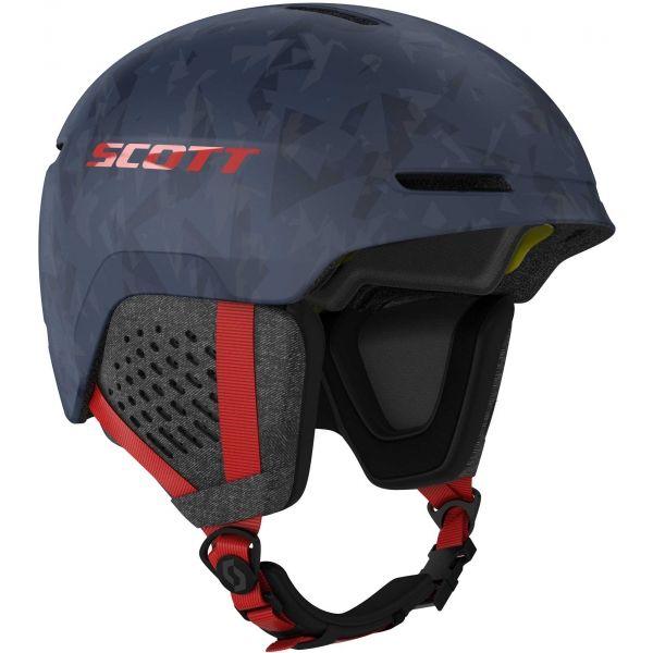 Scott TRACK PLUS modrá (59,5 - 61,5) - Lyžařská helma