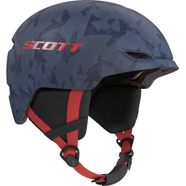 Scott KEEPER 2 PLUS modrá (51 - 54) - Dětská lyžařská helma
