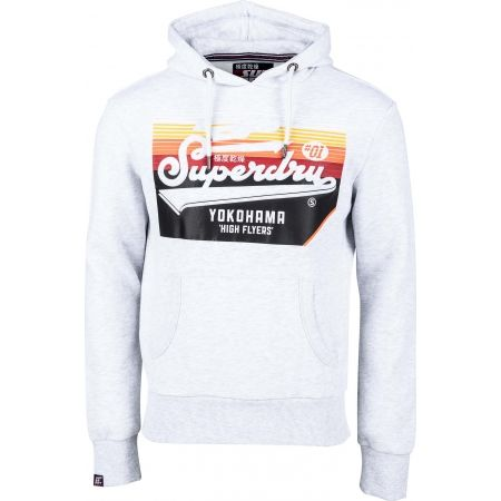 Superdry EMBOSSED CLASSIC HOOD - Men's sweatshirt