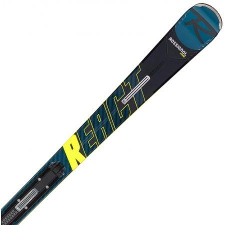 Pánske zjazdové lyže - Rossignol REACT R8 HP+NX 12 KONECT GW - 3