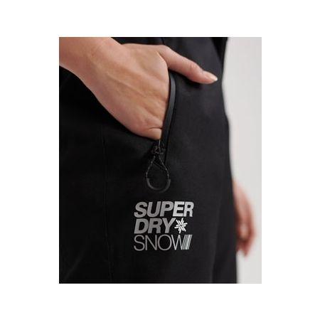 Dámske lyžiarske nohavice - Superdry SD SKI RUN PANT - 4