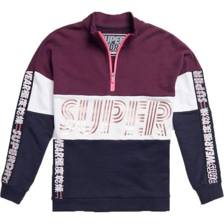 Superdry FLASH SPORT CITY CREW - Bluza damska