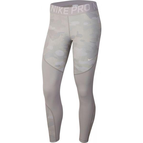 Nike NP REBEL TIGHT 7/8 CAMO - Dámske legíny