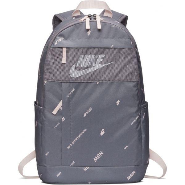 Nike ELEMENTAL BACKPACK - 2.0 AOP šedá NS - Batoh