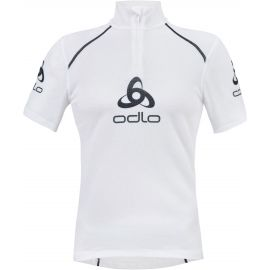 Odlo STAND-UP COLLAR S/S 1/2 ZIP ORIGINALS LIGHT LOGOLINE - Pánske funkčné tričko
