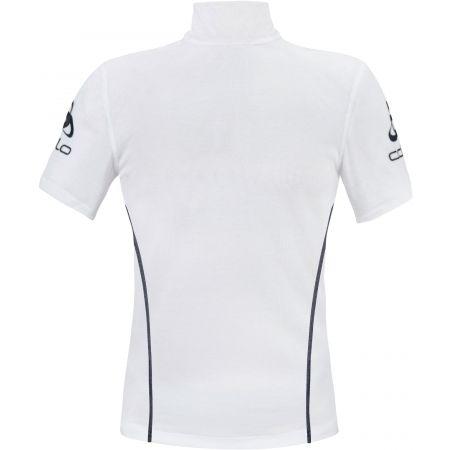 Мъжка функционална тениска - Odlo STAND-UP COLLAR S/S 1/2 ZIP ORIGINALS LIGHT LOGOLINE - 2