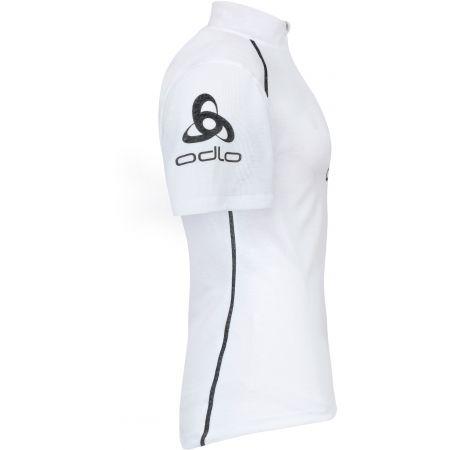 Мъжка функционална тениска - Odlo STAND-UP COLLAR S/S 1/2 ZIP ORIGINALS LIGHT LOGOLINE - 3