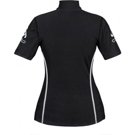 Dámské funkční tričko - Odlo STAND-UP COLLAR S/S 1/2 ZIP ORIGINALS LIGHT LOGOLINE - 2