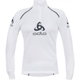 Odlo SUW MEN'S L/S 1/2 ZIP STAND-UP COLLAR ORIGINALS LIGHT LOGOLINE - Pánské funkční triko