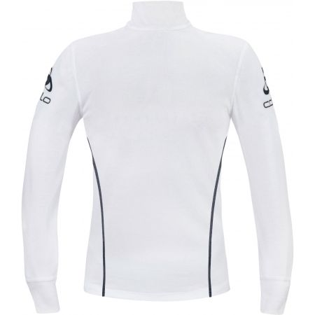 Мъжка функционална тениска - Odlo STAND-UP COLLAR L/S 1/2 ZIP ORIGINALS LIGHT LOGOLINE - 2