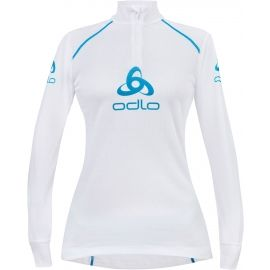 Odlo STAND-UP COLLAR L/S 1/2 ZIP ORIGINALS LIGHT LOGOLINE - Bluză funcțională de damă