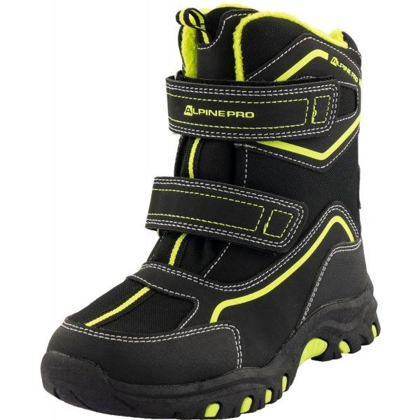 ALPINE PRO MUNDO - Detská zimná obuv