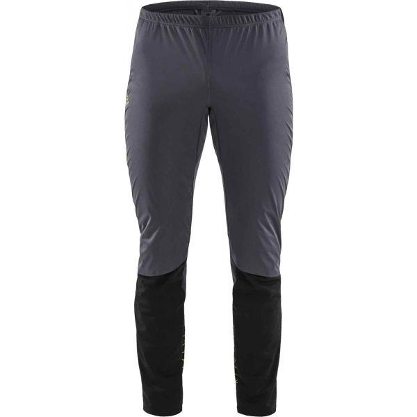 Craft STORM BALANCE sivá XXL - Pánske nohavice na bežecké lyžovanie