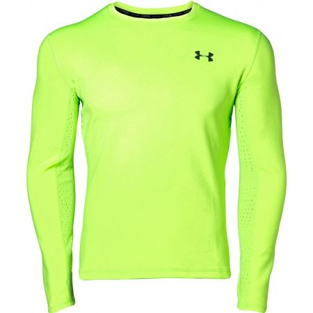 Under Armour QUALIFIER COLDGEAR LONGSLEEVE - Pánske bežecké tričko s dlhým rukávom