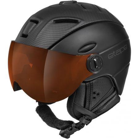 Etape COMP PRO - Unisex ski helmet with a visor