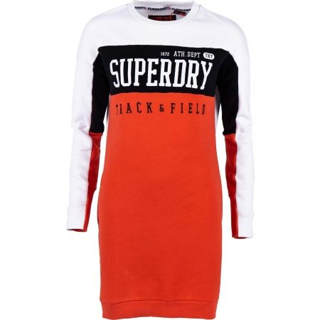 Superdry PANEL SLEEVE SWEAT DRESS - Дамска рокля
