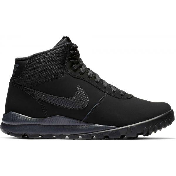 Nike HOODLAND SUEDE SHOE czarny 10 - Obuwie miejskie męskie