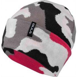 Bula JR CAMO BEANIE - Плетена шапка за момчета