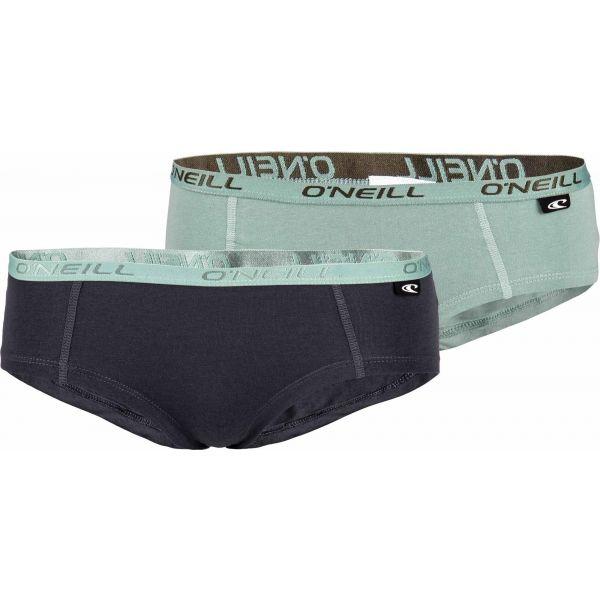 O'Neill WOMEN HIPSTER 2PK zelená L - Dámske nohavičky