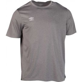 Umbro FW MARL CREW TRAINING JERSEY SMALL LOGO - Pánske športové tričko