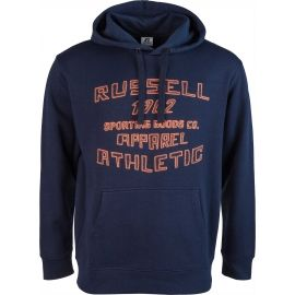 Russell Athletic PRINTED HOODY SWEATSHIRT APPAREL ATHLETIC - Pánska mikina
