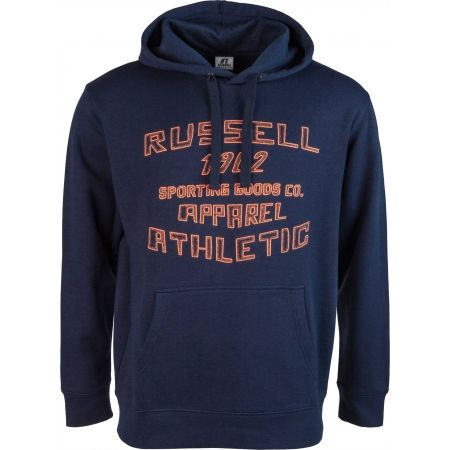 Russell Athletic PRINTED HOODY SWEATSHIRT APPAREL ATHLETIC - Hanorac de bărbați
