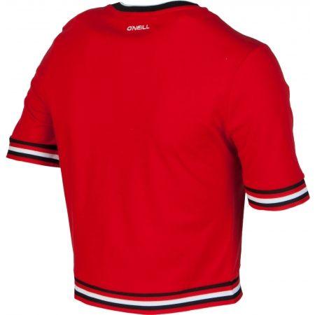Koszulka damska - O'Neill LW SPORT STRIPE RIB TEE - 3