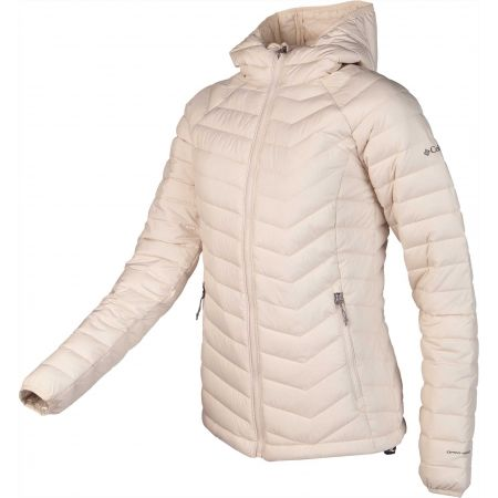 Dámska bunda - Columbia POWDER LITE HOODED JACKET - 2