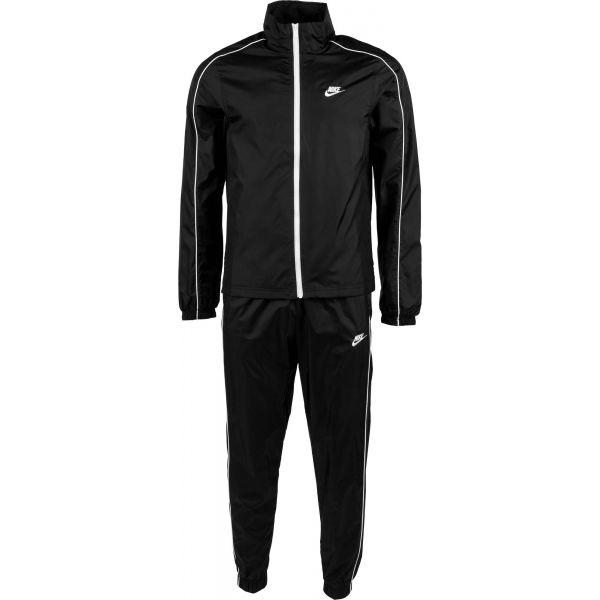 Nike NSW CE TRK SUIT WVN BASIC M czarny S - Dres męski