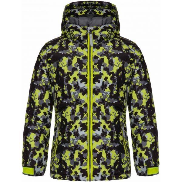 Loap CURLLY černá 146-152 - Dětská zimní bunda