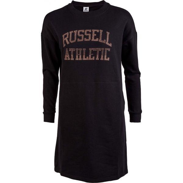 Russell Athletic PRINTED DRESS čierna XL - Dámske šaty