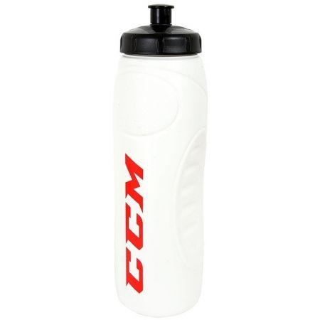 Sportovní láhev - CCM BOTTLE 1L WHITE