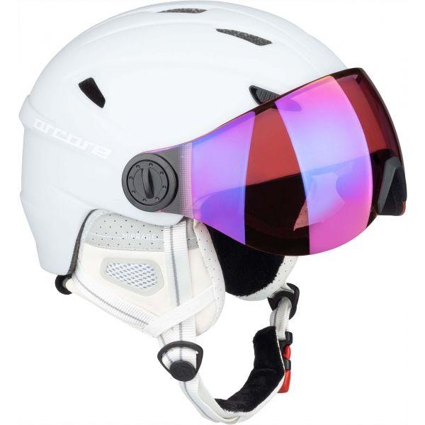 Arcore MIRRAGE biały (59 - 60) - Kask narciarski