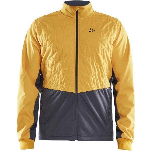 Craft STORM BALANCE sárga XXXL - Férfi funkcionális kabát