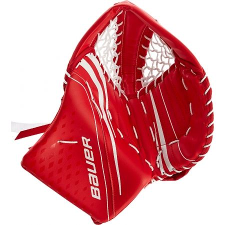 Juniorská lapačka - Bauer VAPOR X2.7 CATCH GLOVE JR REG - 1